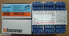 BTICINO Terraneo 346120 derivatore di piano audio digitale