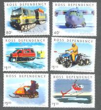 Ross Dependency-ANTARTICO trasporto - (66/71) Gomma integra, non linguellato TRATTORI-Elicottero (2000)