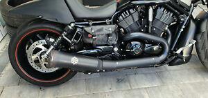 KessTech ESM3 2in1 Endschalldämpfer Harley Davidson V-Rod Night Rod Exhaust