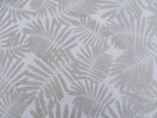 Harlequin Curtain Fabric 'ESPINILLO' 3.3 METRES (330cm) Gilver/Frost - Linen Mix
