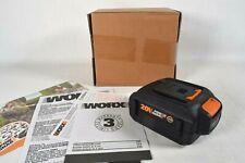 GENUINE! Worx WA3578 20V 4.0Ah Lithium-Ion Battery w/ Fuel Gauge - WA3575 WA3520