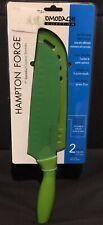 Hampton Forge Tomodachi Santoku Knife, 7-Inch, Green, HMC01A592A New In Package