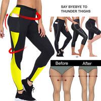 Women Lady Body Shaper Weight Loss Slimming Leggings Sauna Fitness Workout Pants