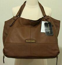 Franco Sarto Dublin leather Saratoga COLOR WHISKEY TRAVEL TOTE handbag $159.00