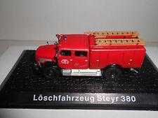 LOSCHFAHRZEUG STEYR 380 FIRE POMPIERS BOMBEROS DEAGOSTINI ATLAS 1:72