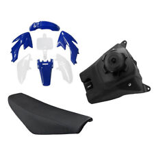PLASTIC FENDER KIT FOR HONDA CRF XR XR50 CRF50 DIRT BIKE + Tall Seat + Fuel Tank