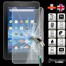 """Tempered Glass Screen Protector For Amazon Fire 7 Tablet with Alexa, 7"""" Display"""