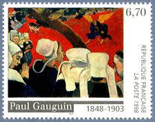 Timbre France Y&T 3207 Neuf** - Vision après le sermon - Paul Gauguin - 1998