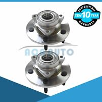 Front Wheel Hub Bearing For 02-08 Dodge Ram 1500 4WD or RWD Left+Right Set