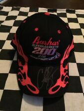 Clint Bowyer Signed Bashas' Supermarkets 200 At PIR Victory Lane Adjustable Hat