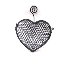 11cm Wire Mesh Heart Holder Potpourri Holder Wedding Fancy Decor Basket