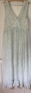 Beautiful Lee Mathews 4 Silk Farah Dress, Too Big For Me, Worn Once