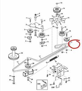 John Deere Getriebe Traktion Antriebsriemen LTR155 LTR166 LTR180