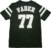 Star Wars Vader 77 Varsity Double Sided Adult T-Shirt - Space Galaxy Jedi Yoda