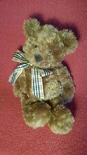 "16"" Gund TEDDY BEAR ""HAMMOND"" curly brown plush stuffed animal toy 15039"
