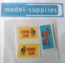 Corgi 486 Kennel Club reproduction side and roof stickers