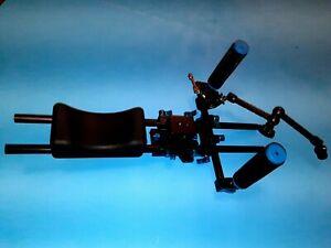 DSLR Video Stabilization Shoulder Rig with Accessory adjustable arm