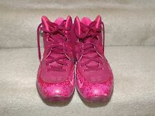 Nike Air Max Hyperposite Men's Basketball Shoe Size 12 [Rasberry/Red/Pink]