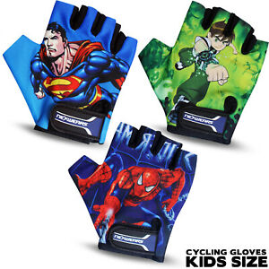 New Junior Kids & Girls Cycling Gloves Padded Bicycle Cycle BMX Gloves Children