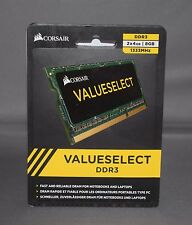 CORSAIR CMSO8GX3M2A1333C9 SODIMM DDR3 2X4GB (8GB) 1333MHz LAPTOP MEMORY MACBOOK