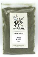 Huge Miniatures SG015 Muddy Grass Static Grass 2mm (1 oz) Wet Ground Floor Mud