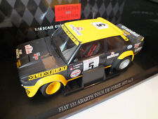 KYOSHO- 08372A- FIAT 131 AbarthN° 5 B. Darniche Tour de Corse 1977 Olio Fiat