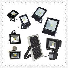10-50W LED Flood Light Outdoor Solar/Motion Sensor Floodlight RGB Garden Pathway