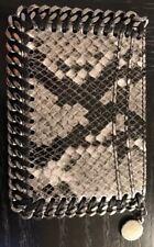 Auth Stella McCartney IPhone Card Case Falabella Python Snake Brand New