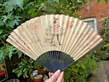 More details for vintage paper fan advertising  stowe's lime  juice
