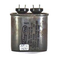 Vintage Dayton 4X426 4 MFD  370 VAC 60Hz Paper in Oil Capacitor