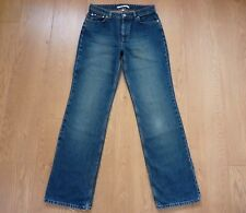 Tommy Hilfiger Ladies Classic Straight Fit Blue Jeans Size UK 10