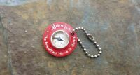Vintage Manger Hotels Advertising Key Chain The Friendliest Name in Hotels