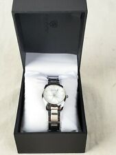 Skone Heart Dial Stainless Steel Womens Watch 7291L w/Box