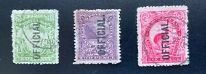 New Zealand 1900 Pictorials Official Set - Used