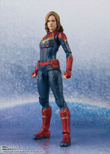 SHF S.H.Figuarts Avengers Captain Marvel PVC Action Figure New In Box
