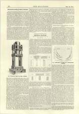 1915 pressa idraulica per la fabbricazione di gusci FUCINATI