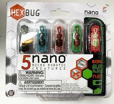 HexBug 5 Nano Micro Robotic Creatures Glow in Dark Nano