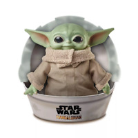 "STAR WARS MANDALORIAN The CHILD 11"" Plush Baby Yoda Doll 