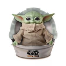 "Disney Star Wars Baby Yoda Plush The Child Mandalorian 11"" Plush In Hand"