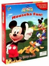 Disney Mickey Mouse Clubhouse Busy Books 12 Figurines Playmat Storybook