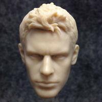 Blank Hot 1/6 Scale Resident Evil 5 Criss Head Sculpt Unpainted