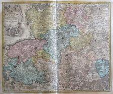 Grafiken & Drucke aus Belgien mit Landkarten-Motiv und Kupferstich-Technik