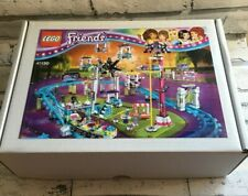 LEGO Friends 41130 AMUSEMENT PARK ROLLER COASTER 100% Complete with Gift Box