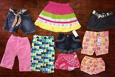 GIRLS SHORTS Lot SIZE 3/3T ALL GYMBOREE ADJUSTABLE Pink Summer Capri PANTS 2-NWT