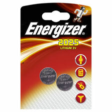 Baterías desechables Energizer de litio CR2025 para TV y Home Audio