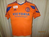 """FC Schalke 04 Adidas Ausweich Kinder Trikot 2003/04 """"VICTORIA"""" Gr.140- 152"""
