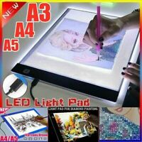 USB Portable  A3 A4 A5 LED Light Box Stencil Board Diamond Painting Tracing Pad