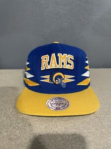 Mitchell And Ness Los Angeles Rams Snapback Hat