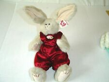 """New listing Ty Rabbit Sidney 11"""" tall Movable Arms & Legs Attic Treasures Collection New Tag"""