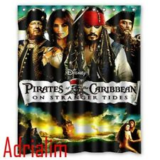 Pirates of the Caribbean On Stranger Tides Custom Shower Curtains 60x72 Inch